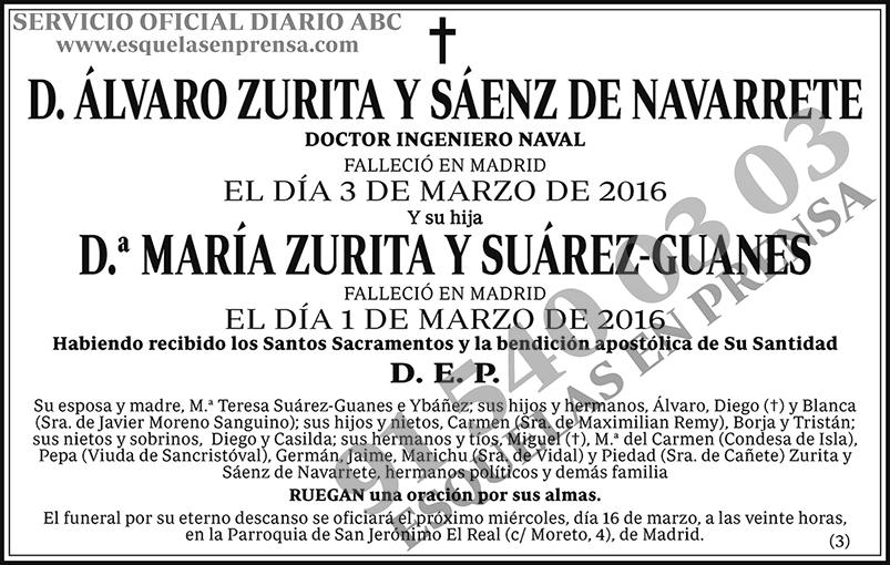 Álvaro Zurita y Sáenz de Navarrete